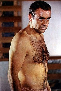 Sean Connery, you look damp. Let Stacey blow you dry.