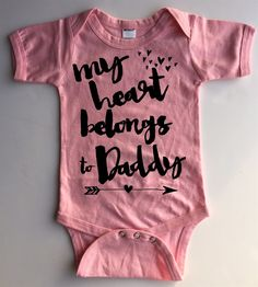 You don't need to look any further for the perfect Valentine's Day bodysuit or tee for your little loves.  We hope you love our new designs that can be worn all year roundt.  We have several different designs to choose from in sizes newborn up to 4T.  You pick the size, color of tee, and design you want!Please note that we are unable to change the ink color. Black ink will not show up on black bodysuits or tees, so make sure to choose a bodysuit or tee that will work with...