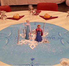 Decoración  para  mesa infantil, realizada por glitter pretty party.