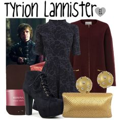 """""""Tyrion Lannister -- Game of Thrones"""" by evil-laugh on Polyvore"""