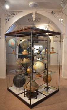 Globes - permanent collection at the Whipple Museum   Cambridge, England