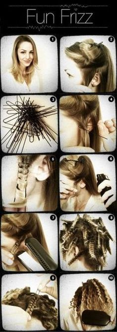 Would be fun for crazy hair day or a themed bachelorette party.