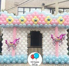 Balões Carrossel
