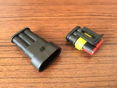 TES 3 hole automobile waterproof auto connectors (Male female) 3p with terminal and waterproof plug