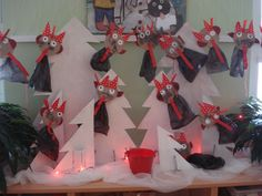 čerti San Antoni, Winter Solstice, Yule, My Children, Advent Calendar, Christmas Crafts, Kindergarten, December, Santa