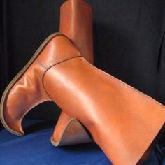 HANDMADE LONG LEATHER BOOTS