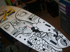 Surfboard Art by ~Dbarthorpe on deviantART