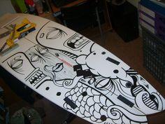 Surfboard Art by ~Dbarthorpe on deviantART