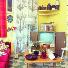 Retro livingroom #instagram
