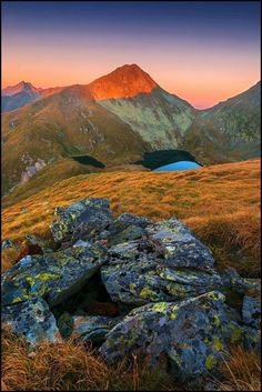 Capra lake, Fagaras Mountains, Romania, www.romaniasfriends.com