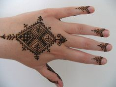 My henna done by Kenzi - Moroccan Style