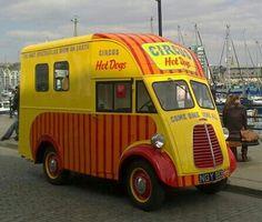 Hot Dog Van Oxford Mini Van  S