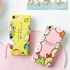 Sumikkogurashi Phone Case for iPhone 7 7plus 6 6s 6plus Soft TPU Back Case Cover Cartoon Movie Phone Phone Cover Free Shipping