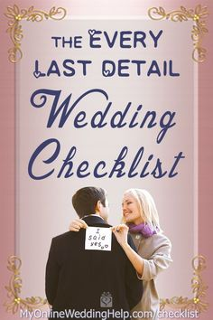 This complete wedding checklist and timeline has everything you need for planning your own wedding from start to finish. Diy Wedding On A Budget, Plan Your Wedding, Wedding Tips, Wedding Events, Preparing For Marriage, Wedding Planning Checklist, How To Plan, Weddingideas, Blog