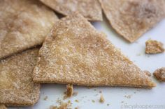 Homemade Cinnamon Tortilla Chips are the perfect crispy treat to satisfy those churro cravings! These easy homemade cinnamon chips cookquickly. Cinnamon Sugar Tortillas, Cinnamon Tortilla Chips, Homemade Tortilla Chips, Cinnamon Chips, Homemade Tortillas, Empanadas, Tostadas, Strawberry Salsa, Condensed Milk Recipes