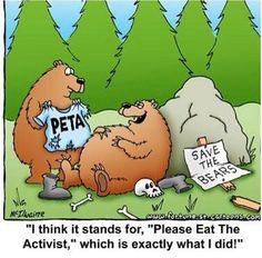 PETA humor