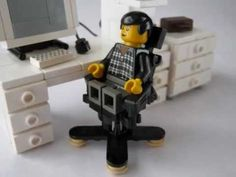 ▶ Lego furniture in LEGO STADIUM - YouTube