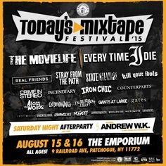Today's Mixtape Festival announces expanded band line-up