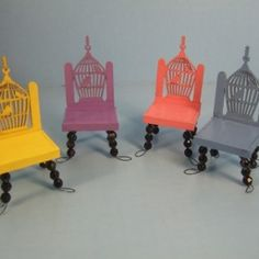 Miniature Patio Chairs