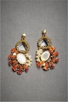 BHLDN bridal earrings
