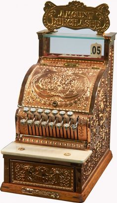 National Cash Register Candy Store Model No. 311 : Lot 1450 - I have this cash register for use in my candy store/soda fountain display.