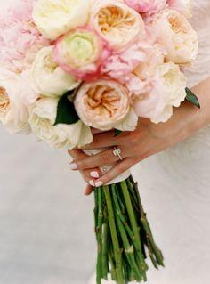 New York Botanical Garden Wedding from Charlotte Jenks Lewis Perfect Wedding, Our Wedding, Dream Wedding, Wedding Bells, Botanical Gardens Wedding, Garden Wedding, Floral Wedding, Wedding Flowers, Pink Bouquet