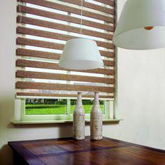 Duorolgordijn   roljaloezie   twist   dubbel rolgordijn   verkrijgbaar bij Rolgordijnwinkel.nl Ramen, Blinds, Curtains, Lighting, Elegant, Home Decor, See Through, Modern Blinds, Innovation Design