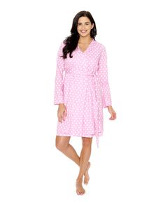 Molly Maternity/Delivery and Nursing Robe. Expecting a baby girl. This is a prefect match for you. Pack it in your hospital bag and receive visitors in style and comfort.  more matching nightwear, labor gowns , pillowcases and baby coming home outfits available at www.babybeminematernity.com
