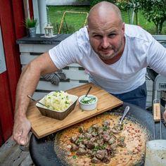 Hallonkola - i Köket med Anders Eld, Grilling, Cheese, Chicken, Crickets, Grill Party, Cubs