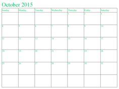 Blank Calendar  Canada Printables    Blank Calendar