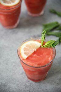 Wassermelonenslushi