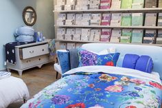 Designers Guild London, SS14 Bed Linen Collection on display at Kings Road flagship store