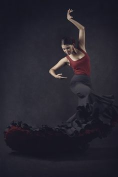 photo ... flamenco dancer ... beautiful art in motion