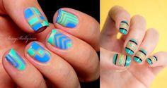 Negative Space: a nail art da vez