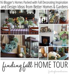 Fall Decorating Ideas: 16 blogger's homes and BHG.com share their best fall decorating ideas.
