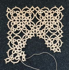 It's mostly about tatting!