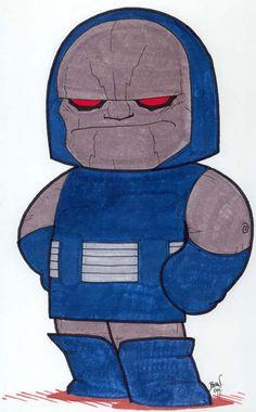 Chibi Darkseid by hedbonstudios