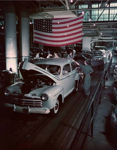 Ford Factory Assembly  Line