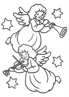 Guardian Angel Coloring Page | Angels | Pinterest | Guardian ...