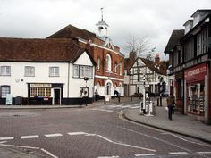 A modern view of Whitchurch, Hampshire, where part of the novella takes place.