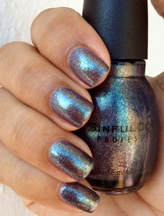 One of my favorite polishes to wear in the Fall/Winter! Sinful Colors Winter Wonder.
