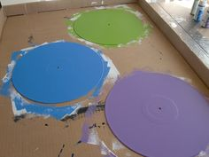 Forever and a Recipe: DIY: Vinyl Record Art