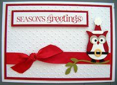 Kate's Krafts: I'm Dreaming of an Owl Christmas!