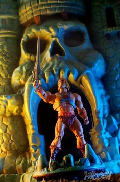 He-Man by Matthew K at the Fwoosh!