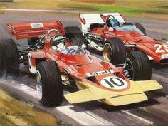 Jochen VS Jacky 1970