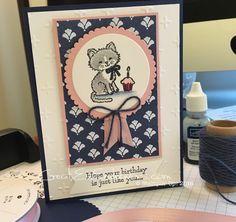 Pretty Kitty – Night of Navy & Blushing Bride Stampin' Up! – Creat Ev Endeavors