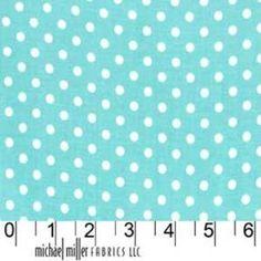 Michael Miller House Designer - Dots - Dumb Dot in Robins EggMichael Miller House Designer - Dots - Dumb Dot in Citron - from Hawthorne Threads, $9.25 per yard