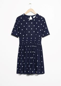 & Other Stories   Dotted Dress
