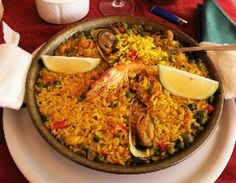Canary Islands Traditional Meal - Paella