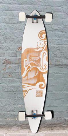 Longboards USA - Bamboo Hawaii Hook Trurute Pintail Longboard, $166.00 (http://longboardsusa.com/bamboo-hawaii-hook-trurute-pintail-longboard/)